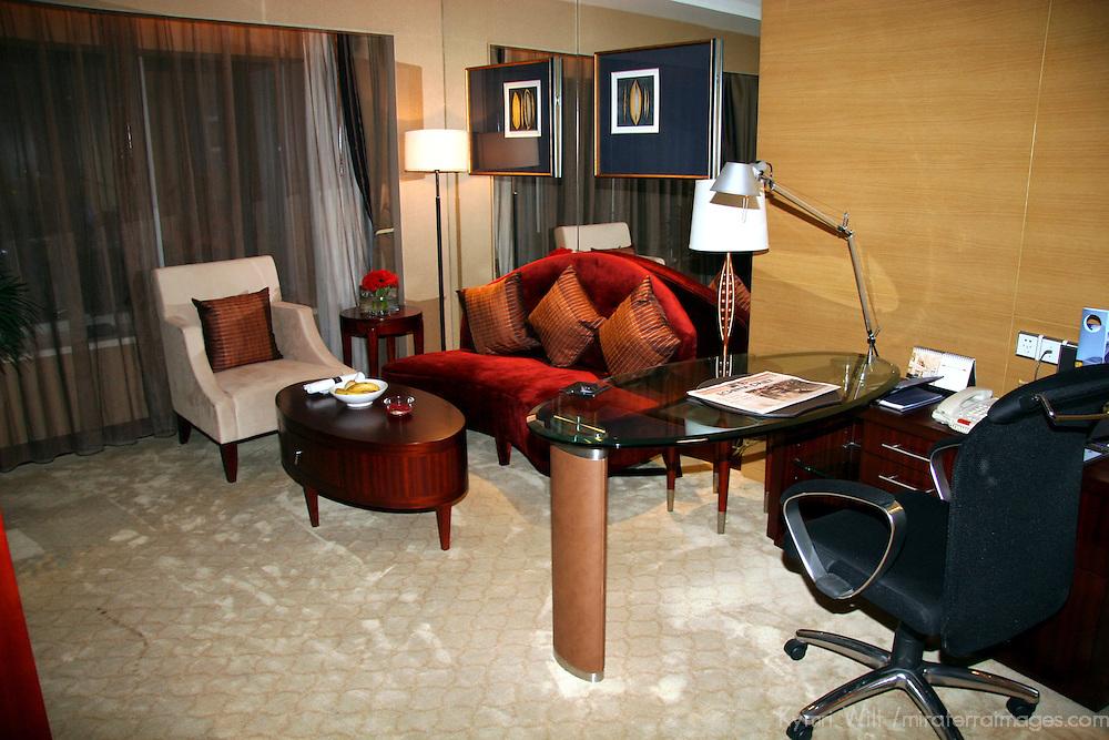 Asia, China, Xian. Sofitel Suite Sitting Area