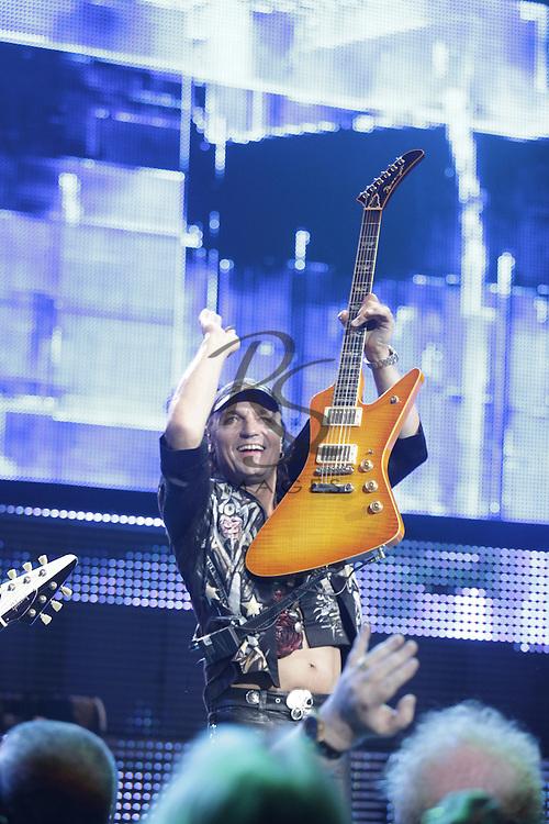 Scorpions, June 15, 2012 in Phoenix, Arizona.