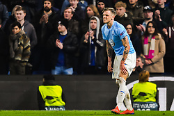 February 21, 2019 - London, Great Britain - 190221 SÅ¡ren Rieks of MalmÅ¡ FF in pain during the Europa league match between Chelsea and MalmÅ¡ FF on February 21, 2019 in London..Photo: Petter Arvidson / BILDBYRN / kod PA / 92228 (Credit Image: © Petter Arvidson/Bildbyran via ZUMA Press)