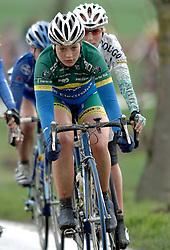 03-04-2006 WIELRENNEN: COURSE DOTTIGNIES: BELGIE<br /> Raxane Knetermann / aa cycling team<br /> ©2006-WWW.FOTOHOOGENDOORN.NL