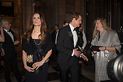 LIVIA FIRTH; COLIN FIRTH, Alexander McQueen: Savage Beauty Gala, Victoria and Albert Museum, and A. 12th March 2015