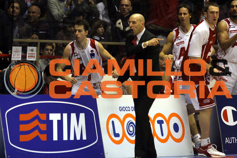 DESCRIZIONE: Forli Lega A1 2005-06 Coppa Italia Tim Cup Armani Jeans Olimpia Milano Carpisa Napoli<br />