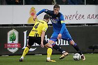 (L-R) *Roel Janssen* of VVV Venlo, *Wout Weghorst* of AZ Alkmaar