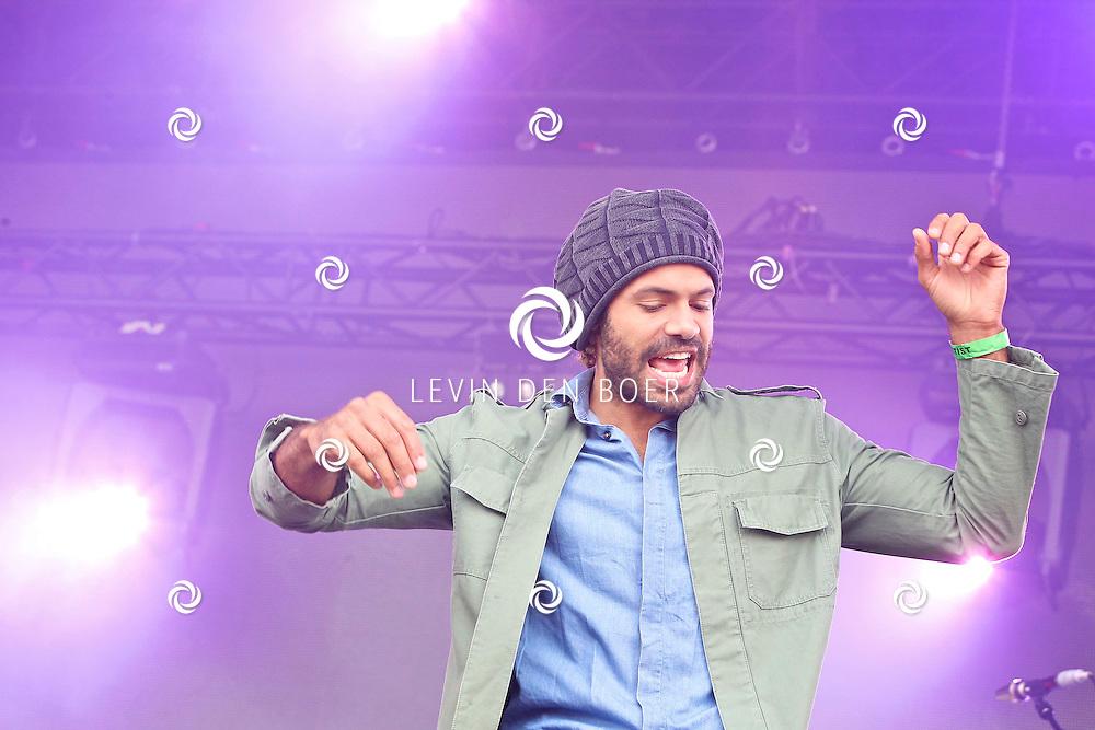 LIESHOUT - Bavaria Open Air Festival. Met op de foto  zanger Alain Clark. FOTO LEVIN DEN BOER - PERSFOTO.NU