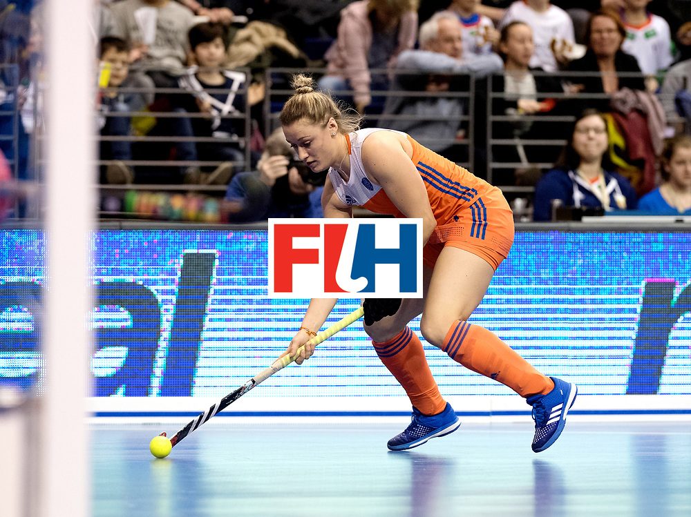 BERLIN - Indoor Hockey World Cup<br /> Final: Netherlands - Germany<br /> foto: Lieke van Wijk<br /> WORLDSPORTPICS COPYRIGHT FRANK UIJLENBROEK