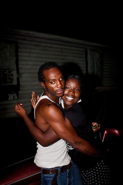 in the Baptist Town neighborhood of Greenwood, Mississippi on Sept. 24, 2010.