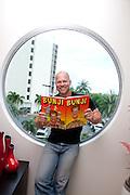 Shane Stringer, Cartoonist, BUNJI. Photo Shane Eecen