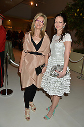 Left to right, LAURA WEINSTOCK and her daughter CELIA WEINSTOCK at a dinner hosted by Cartier in celebration of The Chelsea Flower Show held at The Hurlingham Club, London on 19th May 2014.