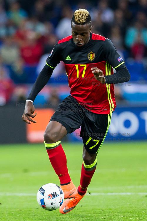 13-06-2016 FRA: UEFA EURO Belgie - Italie, Lyon<br /> België verliest met 2-0 van Italie / Divock Origi<br /> <br /> ***NETHERLANDS ONLY***