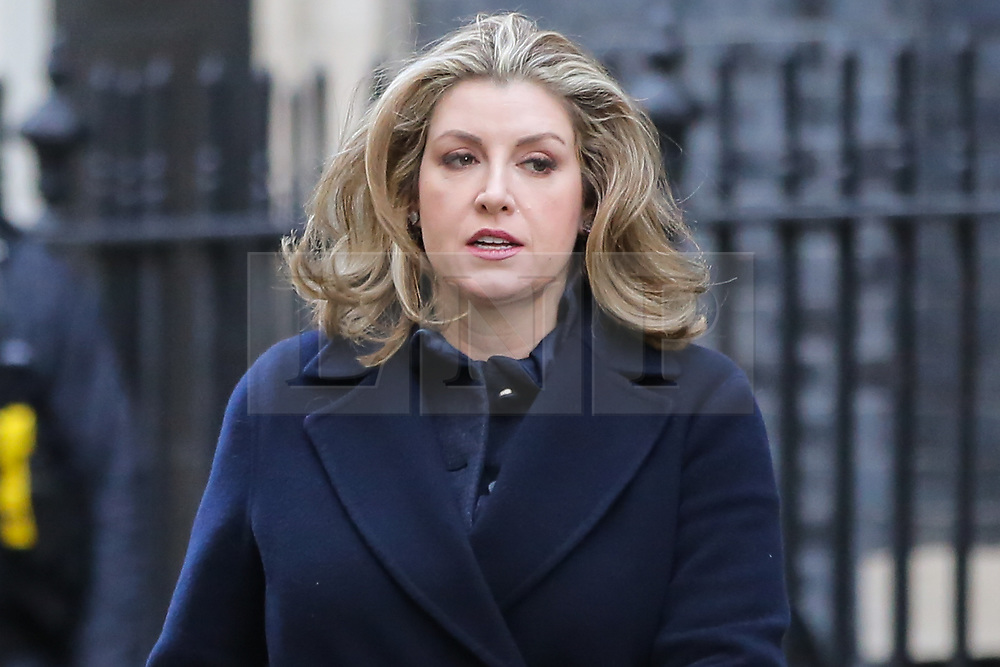 © Licensed to London News Pictures. 08/01/2019. London, UK. Penny Mordaunt - Secretary of State for International Development and Equalities Minister departs from No 10 Downing Street after attending the weekly Cabinet Meeting. Photo credit: Dinendra Haria/LNP