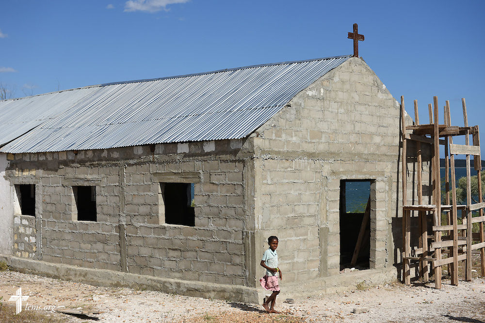 Tin roofs, Monday, Oct. 20, 2014, in southern Madagascar. LCMS Communications/Erik M. Lunsford