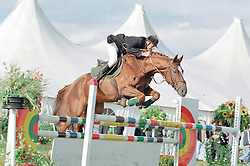 Van Dijck Joris-Heureka de la Loge<br />Nationaal Kampioenschap LRV - Geel 2001<br />Photo © Dirk Caremans