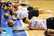 Trieste, 08/08/2012<br /> Baslet, Nazionale Italiana Maschile Senior<br /> Allenamento<br /> Nella foto: jeff viggiano<br /> Foto Ciamillo