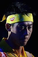 26.10.2016;  Basel; Tennis - Swiss Indoors 2016; Kei Nishikori (JPN)<br /> (Steffen Schmidt/freshfocus)