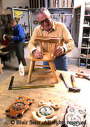 Active Aging Senior Citizens, Retired, Activities, Carpentry, Indoor Wood Crafts