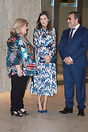 Queen Letizia of Spain attends Delivery of the 5th edition of the Discapnet Awards at Auditorio EL Beatriz on June 21, 2019 in Madrid, Spain
