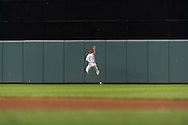 Ben Revere #2 of the Philadelphia Phillies can't make a leaping a catch during a game against the Minnesota Twins on June 11, 2013 at Target Field in Minneapolis, Minnesota.  The Twins defeated the Phillies 3 to 2.  Photo: Ben Krause