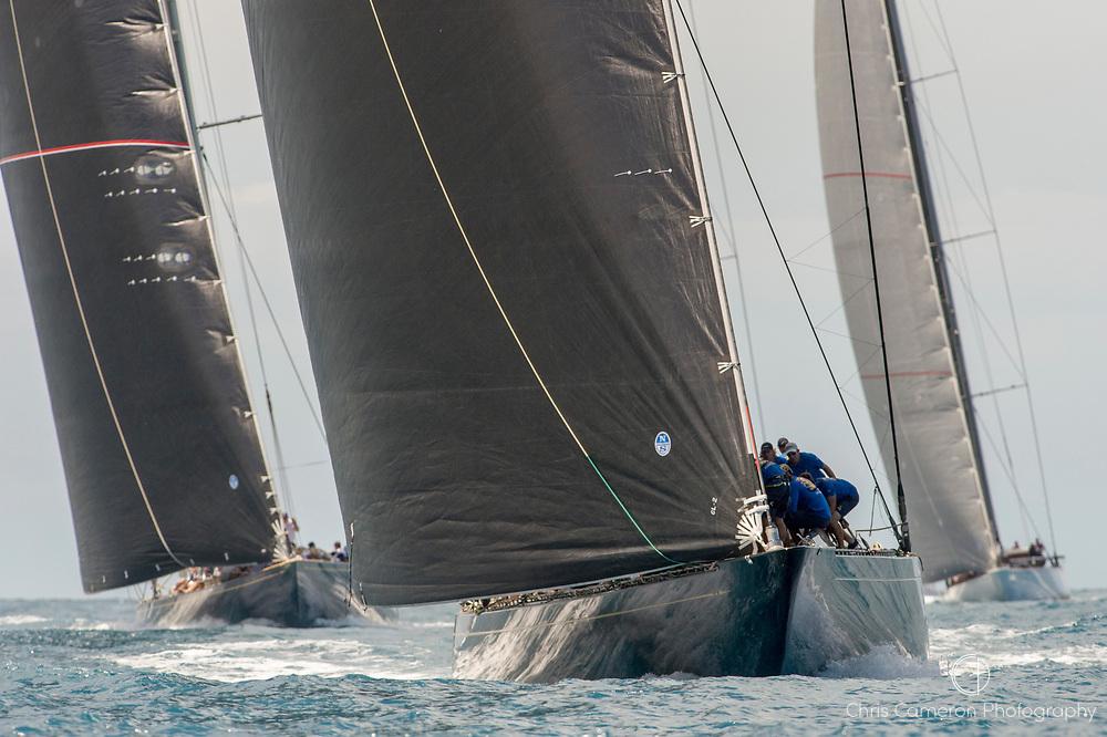 Bermuda, 13th June 2017. America's Cup Superyacht regatta. J Class race one.
