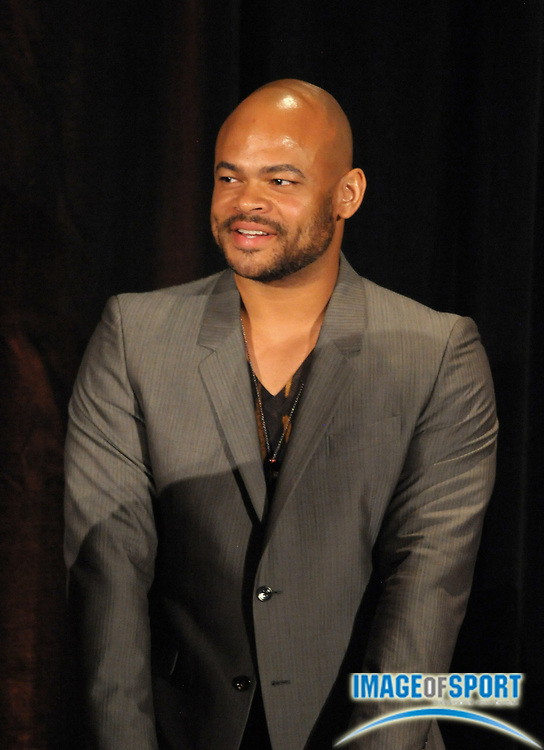 Mar 30, 2012; Austin, TX, USA; Television and film director Anthony Hemingway at the 6th annual Minority Mentorship Symposium at the AT&T Executive Education and Conference Center.