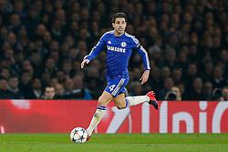 Cesc Fabregas of Chelsea in action - Photo mandatory by-line: Rogan Thomson/JMP - 07966 386802 - 11/03/2015 - SPORT - FOOTBALL - London, England - Stamford Bridge - Chelsea v Paris Saint-Germain - UEFA Champions League Round of 16 Second Leg.