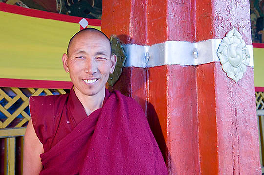 Local Tibetan monk.