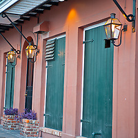 New Orleans French Quarters..