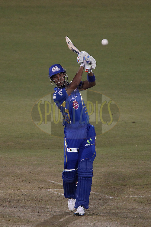 Lendl Simmonds during the qualifier 2 match of the Oppo Champions League Twenty20 between the Mumbai Indians and the Lahore Lions held at the Chhattisgarh International Cricket Stadium, Raipur, India on the 13th September 2014<br /> <br /> Photo by:  Ron Gaunt / Sportzpics/ CLT20<br /> <br /> <br /> Image use is subject to the terms and conditions as laid out by the BCCI/ CLT20.  The terms and conditions can be downloaded here:<br /> <br /> <br /> http://sportzpics.photoshelter.com/gallery/CLT20-Image-Terms-and-Conditions-2014/G0000IfNJn535VPU/C0000QhhKadWcjYs