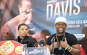 Floyd Mayweather Jr & Frank Warren press conference at The Savoy Hotel, London, Great Britain <br /> 7th March 2017 <br /> <br /> 