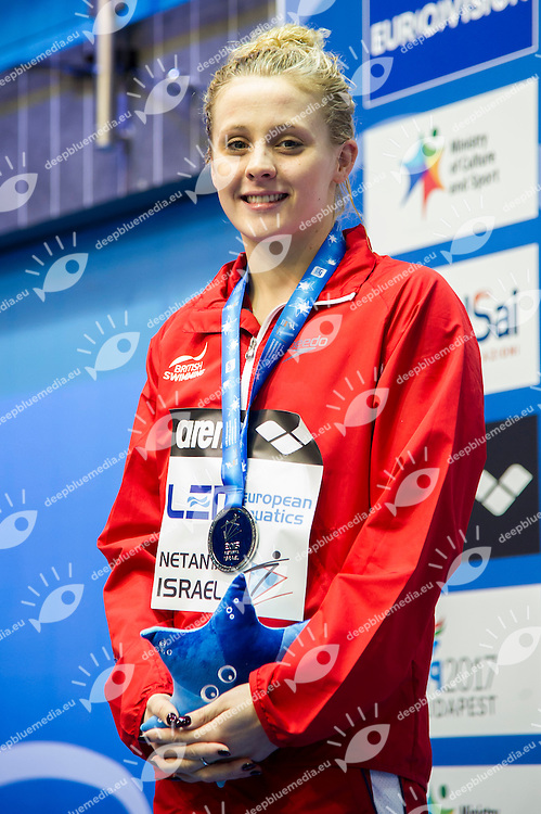 O'CONNOR Siobhan-Marie GBR Silver Medal<br /> 200m Medley Women Final<br /> Netanya, Israel, Wingate Institute<br /> LEN European Short Course Swimming Championships Dec. 2 - 6, 2015 Day04 Dec.05<br /> Nuoto Campionati Europei di nuoto in vasca corta<br /> Photo Giorgio Scala/Deepbluemedia/Insidefoto