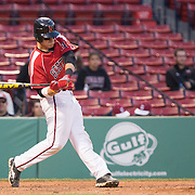 NCAA Baseball: Northeastern Huskies vs. UMass Minutemen on April 29, 2013 in the finale of The Baseball Beanpot at Fenway Park, Boston, MA.