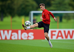 CARDIFF, WALES - Tuesday, September 4, 2018: Wales' Tom Lawrence during a training session at the Vale Resort ahead of the UEFA Nations League Group Stage League B Group 4 match between Wales and Republic of Ireland. (Pic by David Rawcliffe/Propaganda)
