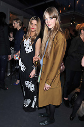 Left to right, GEMMA GREGORY and EDIE CAMPBELL at the Vogue Festival 2012 in association with Vertu held at the Royal Geographical Society, London on 20th April 2012.
