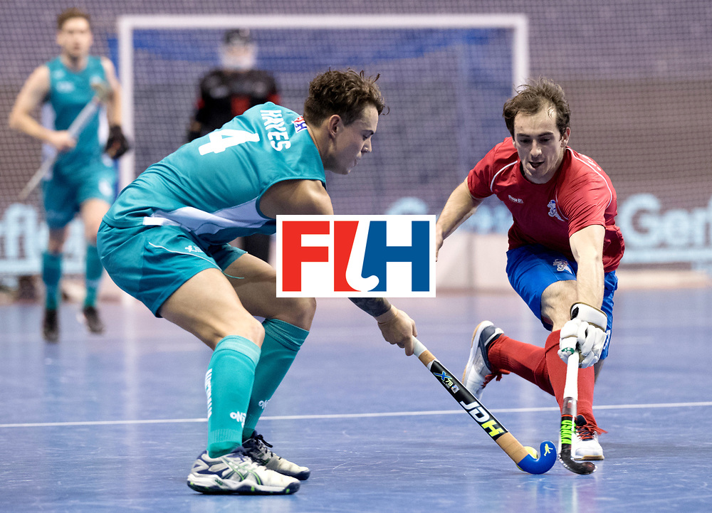BERLIN - Indoor Hockey World Cup<br /> Men: Australia - Czech Republic<br /> foto: HAYES Jack.<br /> WORLDSPORTPICS COPYRIGHT FRANK UIJLENBROEK