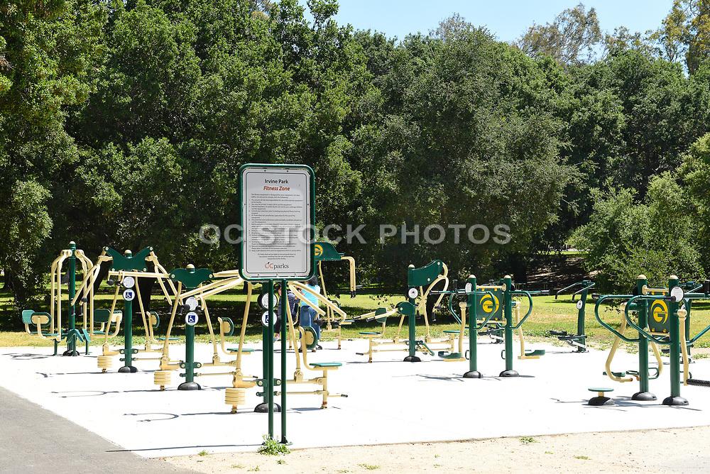 Fitness Area at Irvine Regional Park in Orange County, California