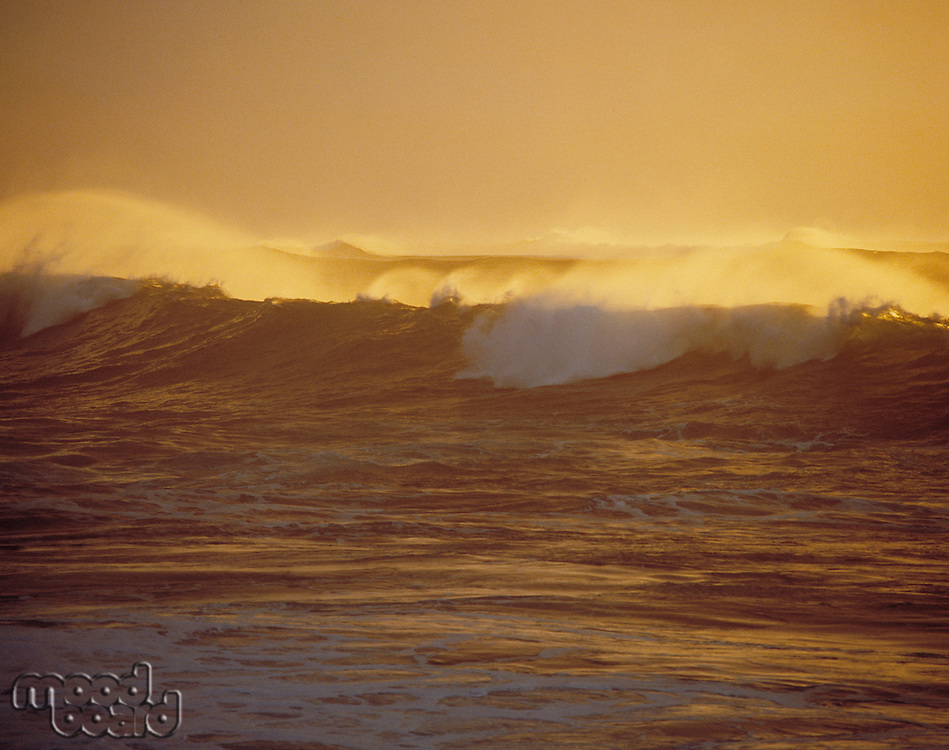Surf at twilight