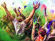 Thousands took part in the annual Festival of Colors at the Sri Sri Radha Krishna Temple in Spanish Fork on Saturday, March 29, 2014.