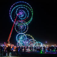 I had trouble photographing this piece so I tried to shoot it several different ways. In these two images I shot a double exposure with one image slightly out of focus to emphasize the colors and maek them appear bigger. My Burning Man 2018 Photos:<br /> https://Duncan.co/Burning-Man-2018<br /> <br /> My Burning Man 2017 Photos:<br /> https://Duncan.co/Burning-Man-2017<br /> <br /> My Burning Man 2016 Photos:<br /> https://Duncan.co/Burning-Man-2016<br /> <br /> My Burning Man 2015 Photos:<br /> https://Duncan.co/Burning-Man-2015<br /> <br /> My Burning Man 2014 Photos:<br /> https://Duncan.co/Burning-Man-2014<br /> <br /> My Burning Man 2013 Photos:<br /> https://Duncan.co/Burning-Man-2013<br /> <br /> My Burning Man 2012 Photos:<br /> https://Duncan.co/Burning-Man-2012