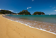Kaiteriteri Beach, Tasman Bay, New Zealand