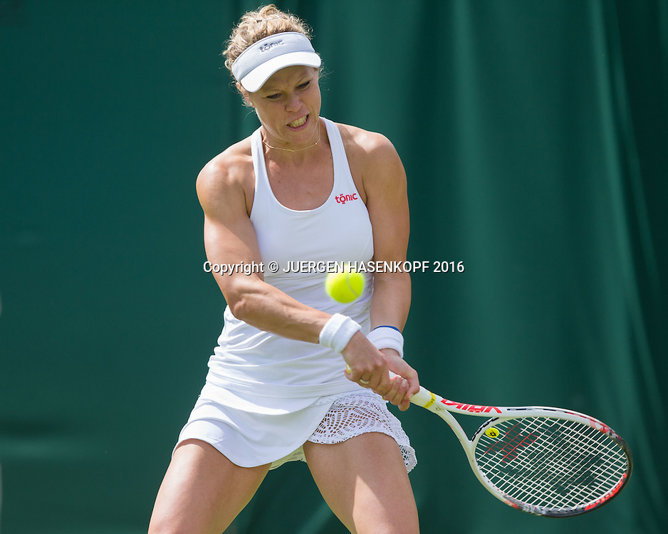 Laura Siegemund (GER)<br /> <br /> Tennis - Wimbledon 2016 - Grand Slam ITF / ATP / WTA -  AELTC - London -  - Great Britain  - 27 June 2016.