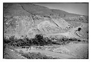 Dry Canon de los Padres in the mountains near Tijuana, Baja California, Mexico.