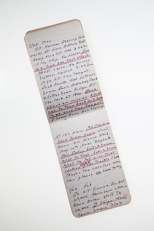Journal entry by Cpt. Everett Graves.