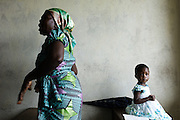 Worshippers gather to sing songs and pray at a church in Monrovia, Liberia.