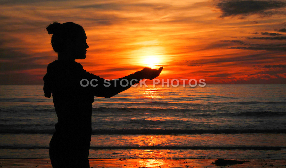 People Silhouette Stock Photography