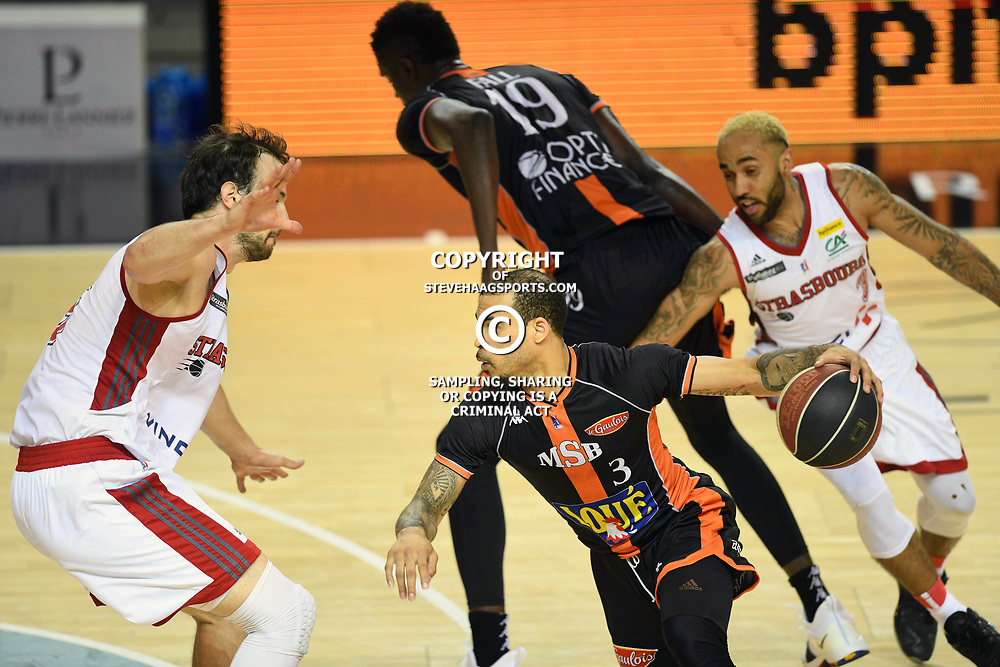 Justin Cobbs of Le Mans during the Jeep Elite match between Strasbourg and Le Mans on June 2, 2018 in Strasbourg, France. (Photo by Sebastien Bozon/Icon Sport)