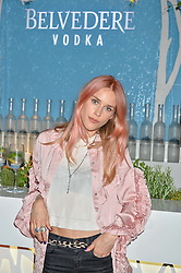 LADY MARY CHARTERIS at the Belvedere Balance Bar Launch Party at The Hoxton Hotel, 81 Great Eastern Street, London on 10th May 2016.