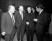 20/04/1970<br /> 04/20/1970<br /> 20 April 1970<br /> Tynagh Mines Dinner Dance at Loughrea, Co. Galway. Mr. A. Carroll, Tynagh; Mr. M. Gilroy; Mrs M. Gilroy and Matt Heaney, Tynagh.