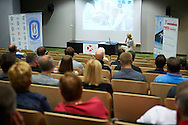 Dr hab. Jadwiga Malczewska - Lenczowska from Institut of Sport speaks during conference Trainers Academy for winter trainers and coaches at COS (Centralny Osrodek Sportowy) in Zakopane on September 8, 2014.<br /> <br /> Poland, Zakopane, September 08, 2014<br /> <br /> Picture also available in RAW (NEF) or TIFF format on special request.<br /> <br /> For editorial use only. Any commercial or promotional use requires permission.<br /> <br /> Mandatory credit:<br /> Photo by © Adam Nurkiewicz / Mediasport
