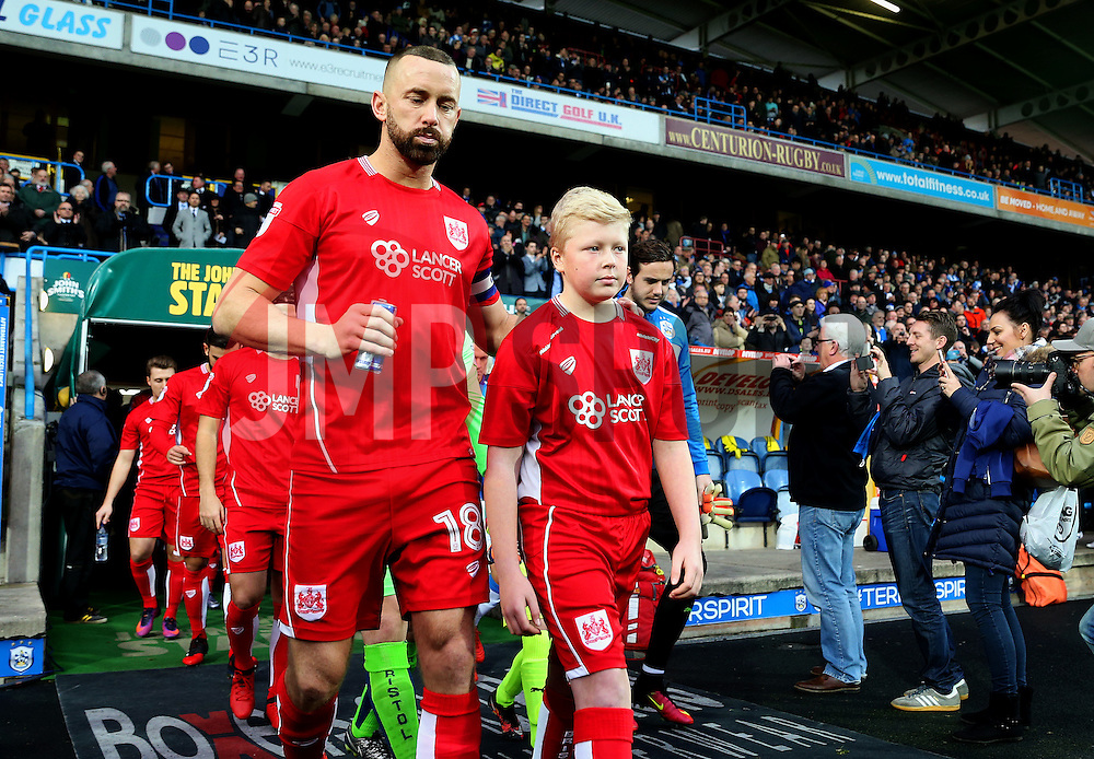 Bristol City mascot - Mandatory by-line: Matt McNulty/JMP - 10/12/2016 - FOOTBALL - The John Smith's Stadium - Huddersfield, England - Huddersfield Town v Bristol City - Sky Bet Championship