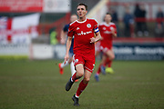 Accrington Stanley midfielder Sean McConville (11)  during the EFL Sky Bet League 1 match between Accrington Stanley and Southend United at the Fraser Eagle Stadium, Accrington, England on 23 February 2019.