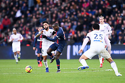 February 9, 2019 - Paris, France - 05 OTAVIO (BOR) - 27 MOUSSA DIABY  (Credit Image: © Panoramic via ZUMA Press)
